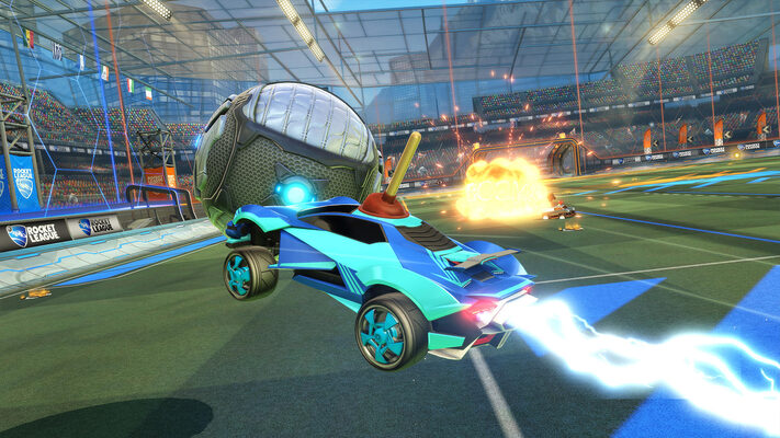 Download Rocket League on your mac for free.